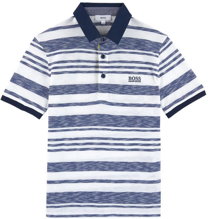 Photo of Slim fit logo polo