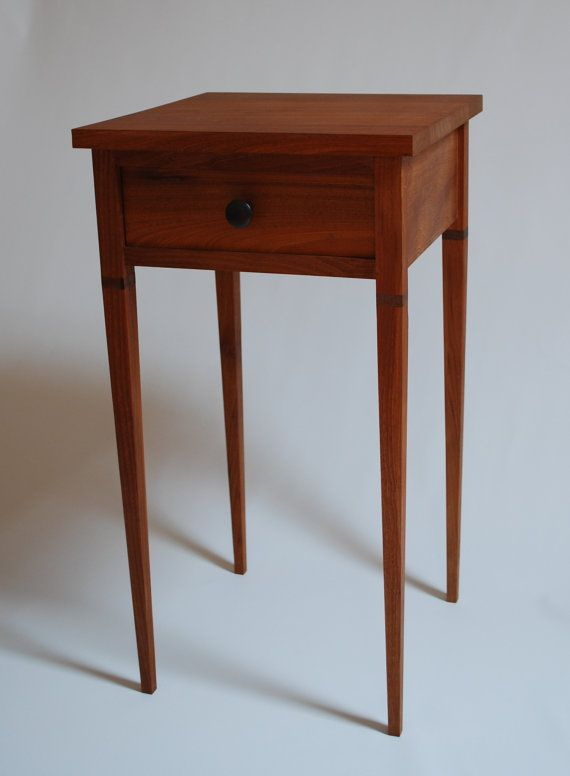 Shaker style end table i love the simplicity of this for Zen style furniture