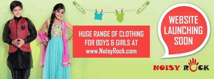 Huge Range of clothing for boys and girls at www.noisyrock.com
