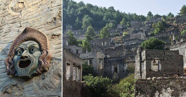 Livissi è oggi una città fantasma, struggente e silenziosa, che in un tempo non troppo lontano era un fiorente insediamento greco in terra turca.