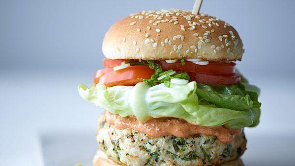 Joe Wicks' McLeanie Turkey Burger   American Recipes ...