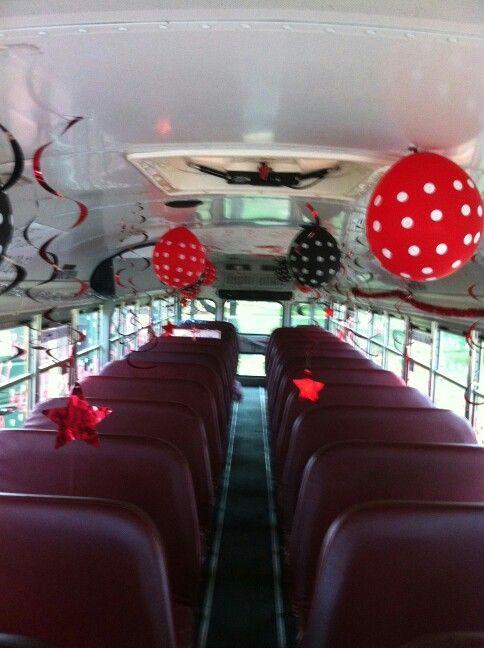 Bus Decorating Team Spirit Senior Pic Ideas Pinterest