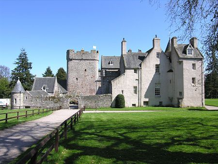 Drum Castle, Drumoak in Aberdeenshire, Scotland.  This is the castle for clan Irvine, my ancestors.  It's on my bucket list to go here one day.