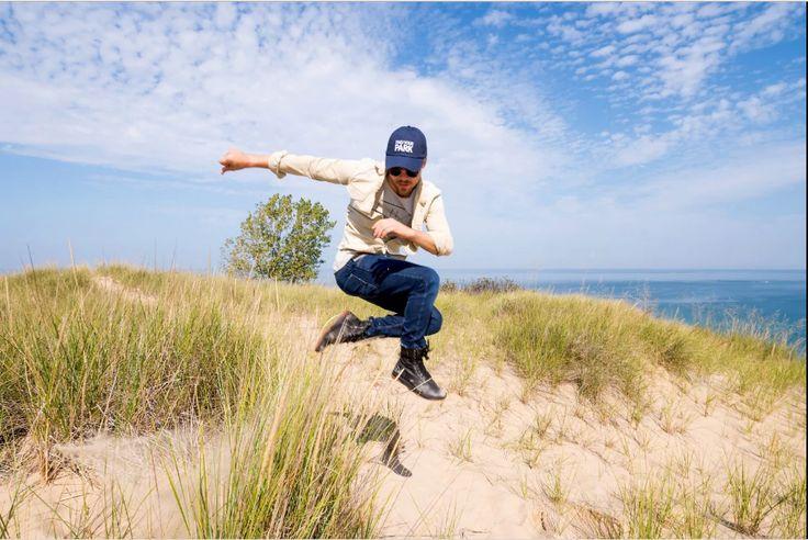 """Dancing With the Stars"" performer Derek Hough is footloose and fancy free at Indiana Dunes National Lakeshore. Image source: https://img.washingtonpost.com/rf/image_1484w/2010-2019/WashingtonPost/2017/10/24/Travel/Images/NPS101.JPG?uuid=yMLn-rgTEeebk7lwQ-V6Ig"