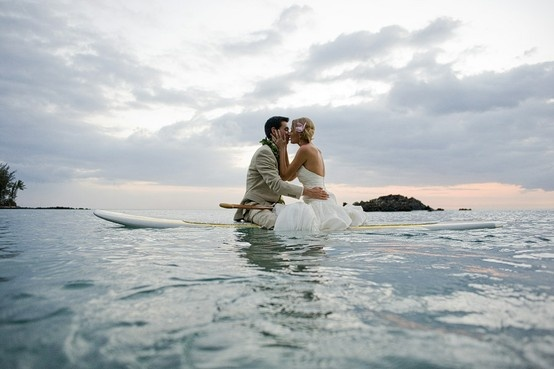 trash the dress? Stand up Paddle board? Yes to both.