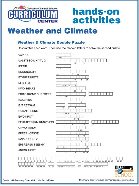 Pin By Kryzlyn Mupas On Puzzles Pinterest Middle School Weather