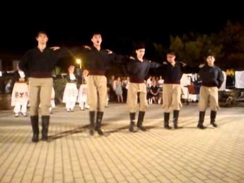 CRETAN DANCE PENTOZALIS - YouTube