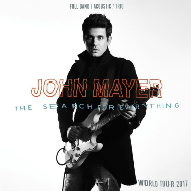 Just Announced John Mayer 2017 Tour Dates and Ticket Info