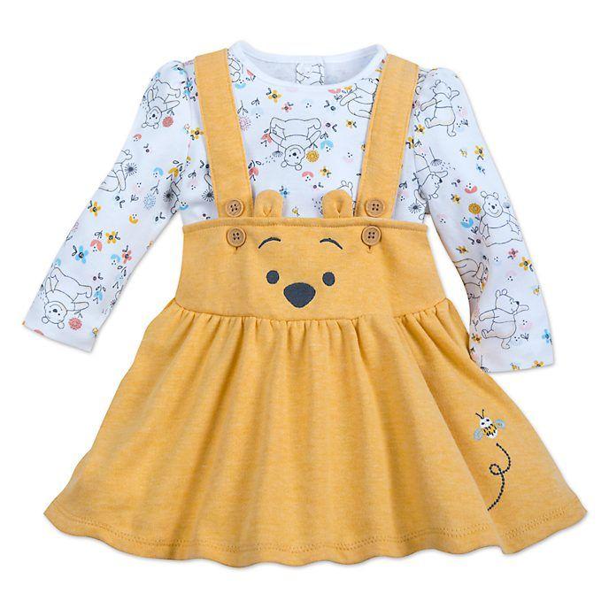 Winnie The Pooh beb/é-ni/ños Body Set
