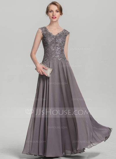 1f52768f270 A-Line Princess V-neck Floor-Length Ruffle Zipper Up Cap Straps Sleeveless  No Other Colors General Plus Chiffon Lace Height 5.7ft Bust 33in Waist 24in  ...