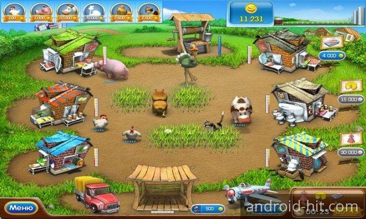 Игра Веселая ферма 2 - продолжение известной игры Веселая Ферма. Здесь все будет гораздо сложнее, но и намного интереснее. Перед вами открывается намного больше фермерских возможностей, так что приступайте к игре! Как и раньше, ваше фермерское дело начинается с небольшого участка на котором вы будете выращивать кур. Играйте онлайн бесплатно и без регистрации на нашем сайте здесь http://woravel.ru/vesyolaya-ferma-2/