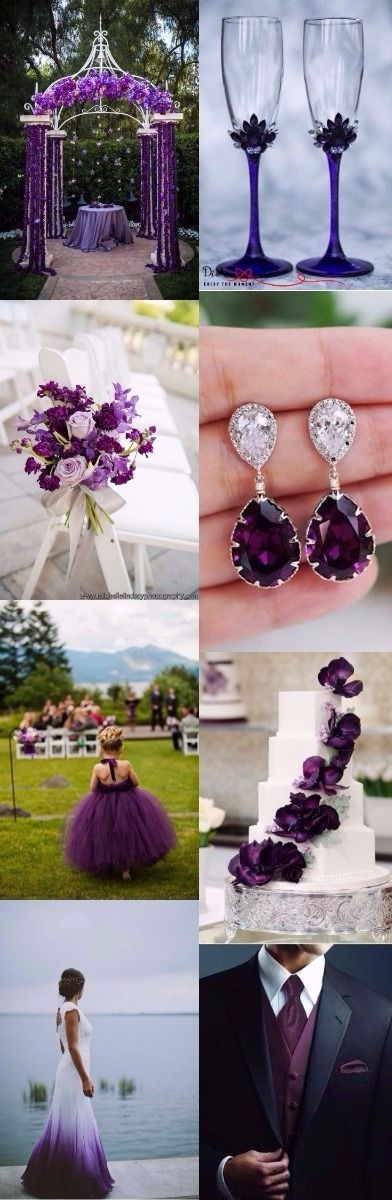 126 best Lavender purple wedding images on Pinterest Bridal gowns
