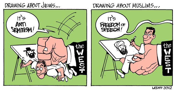 making cartoons  #JeSuisCharlie!?