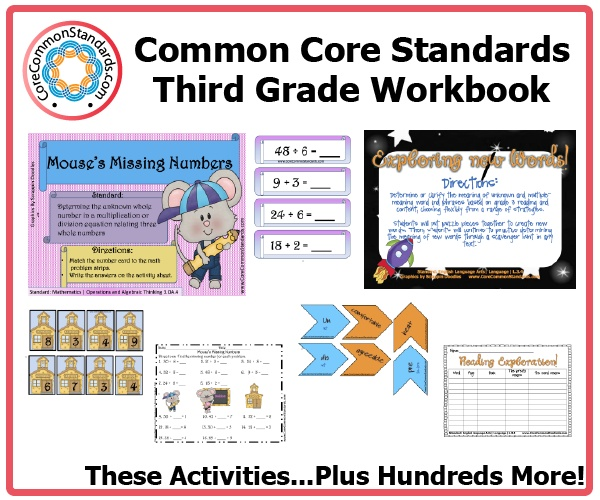 11 best images about third grade common core on pinterest activities common core standards. Black Bedroom Furniture Sets. Home Design Ideas