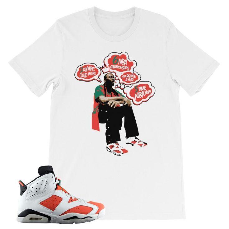 """Jordan 6 Gatorade """"MJ Vision"""" T-Shirt"""