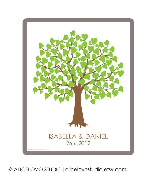 10 best wedding tree guest book images on pinterest