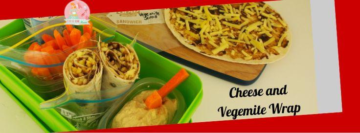 Cheese and Vegemite Wraps   Stay at Home Mum