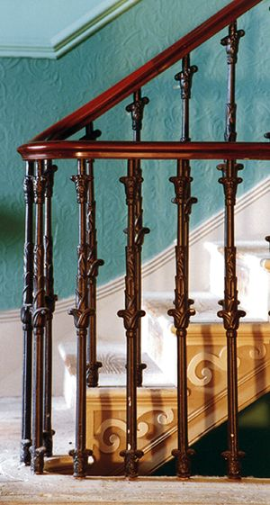 Best The Handrail Is Made From Expensive Imported Mahogany And 400 x 300