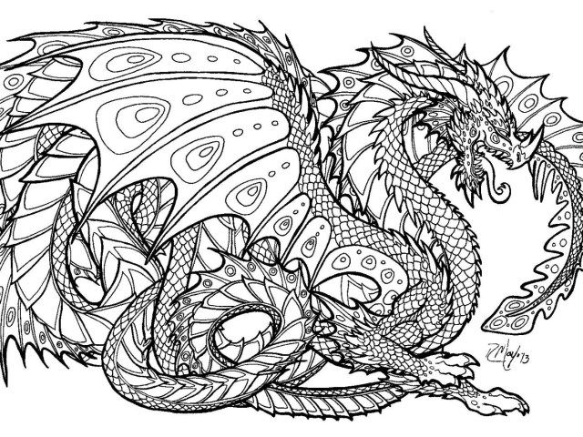 25+ Great Image Of Intricate Coloring Pages - Entitlementtrap.com  Detailed Coloring Pages, Dragon Coloring Page, Animal Coloring Books