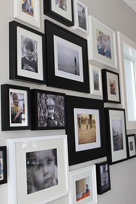 the photo wall by crafted by lindy
