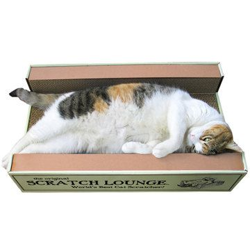 Scratch Lounge 3-Sided Scratcher, $15, now featured on Fab.
