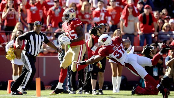 Davis' big day highlights what could be...Vernon Davis caught eight passes for 180 yards and two TDs, but the 49ers need more receiving options.
