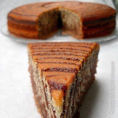 Bizcocho cebra ( zebra cake )