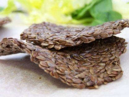 Krekry ze lněných semínek