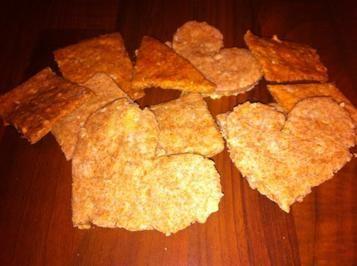 Haferflocken-Kekse für Hunde