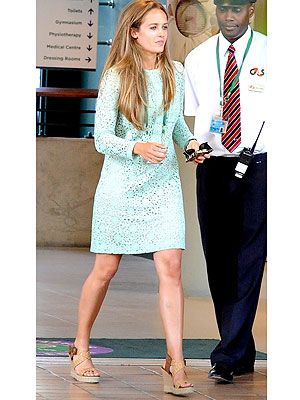 Kim Sears is Andy Murray's stylish girlfriend at Wimbledon (style win!!)