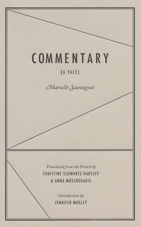 Commentary par Marcelle Sauvageot