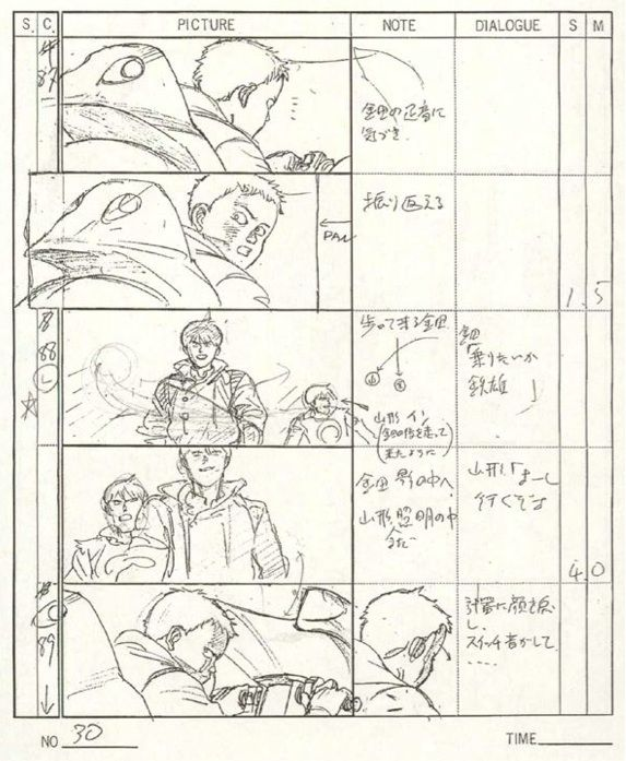The Magic of Animation animação - storyboard Pinterest - anime storyboard