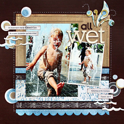 park picsScrapbook Ideas, Scrapbook Layouts, Water Play, Scrapbook Pages Layout, Water Fun, Water Parks, Kelly Gore, Water Fight, Water Guns