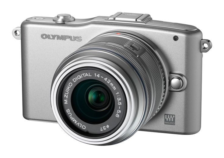 """Olympus PEN E-PM1 12.3MP Mirrorless Digital Camera with CMOS Sensor, 3-inch LCD and 14-42mm II Lens (Silver) (Old Model). Fast Shutter Response. Never miss a shot again with the E-PM1's Fast Shutter Response time of less than 60 milliseconds. Take Videos that are able to capture uncompressed CD-quality 16bit/44.1kHz Linear PCM stereo recording or AC3 Dolby Digital audio. 12 MP with 3.0"""" LCD Screen. Face Detection with Eye Detect. Full 1080 HD Video Shoot up to 29 minutes of 1080 60i HD…"""