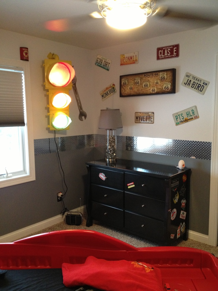 17 Best Images About Kids Room Ideas On Pinterest Cars Car Bed And Car Themes