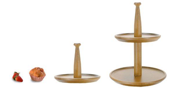 【楽天市場】ラルース アフタヌーンティースタンド(木製ケーキスタンド/ホームパーティー・バースデーパーティー);【RCP】05P10Nov13:生活雑貨30'S