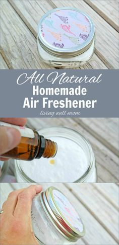homemade air freshener/odor eliminator.    Use a bicarb and essential oil mixture for carpets too just sprinkle over carpet leave for about an hour then hoover it will deep clean your carpet and the scent will come out the back of the hoover and make your house smell great