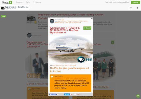 flygcforum.com ✈ TENERIFE AIR DISASTER ✈ The Final Eight Minutes ✈  http://shrs.it/19vxd