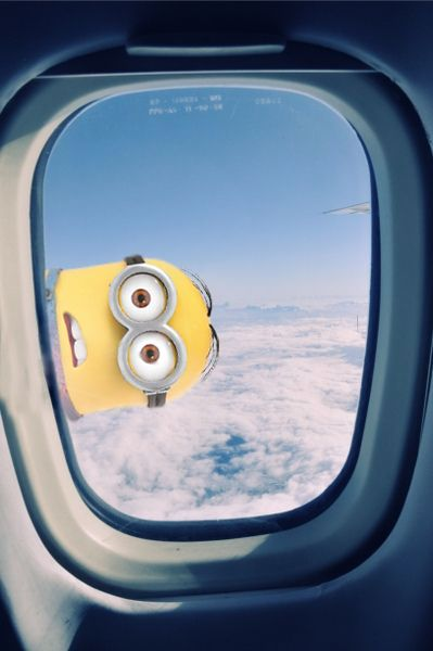 Minions - Avión