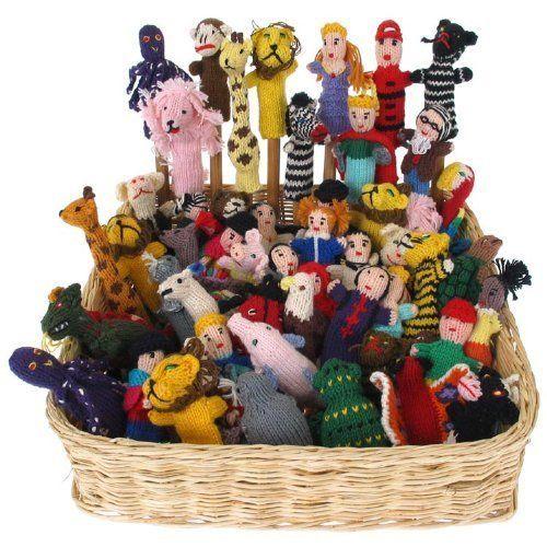 Knit Finger Puppets Assortment Bag of 25 Free Worldwide Global Shipping, http://www.amazon.com/dp/B00KLKFVKI/ref=cm_sw_r_pi_awdm_fRbZvb1X7C955
