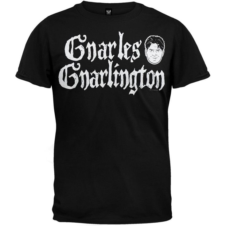 Charlie Sheen - Gnarles Gnarlington T-Shirt