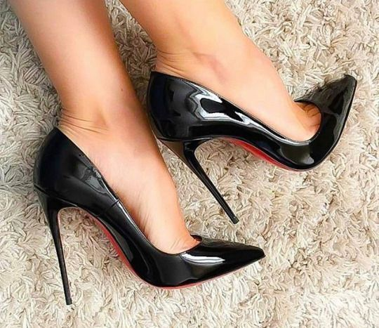 classic fit 9bdc5 a7660 Christian louboutin so kate black patent #highheelswedge ...