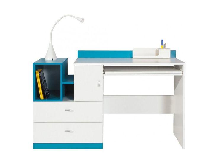 MOBI 11 BIURKO - biurko komputerowe z wysuwką, szufladami i drzwiczkami Biurko to ważny meble w pokoju zabaw jak i nauki , każde dziecko potrzebuje taki mebel , przy którym odrobi zadania domowe jak i pokoloruje kolorowanki czy namaluje dla Nas najpiękniejsze rysunki. Dzięki funkcjonalności biurko MO11 służy nam za stanowisko do pracy przy komputerze a dzięki szerokiej wysuwce pod klawiaturę i myszkę jest bardzo praktyczne