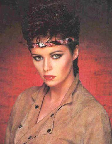 Sheena Easton- oh yeah the headbands.