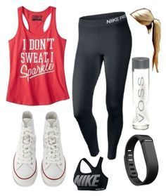 """""""I reallyyy want to take hip hop dance classes"""" by kmm14 ❤ liked on Polyvore featuring Converse, Fitbit, NIKE, women's clothing, women's fashion, women, female, woman, misses and juniors"""