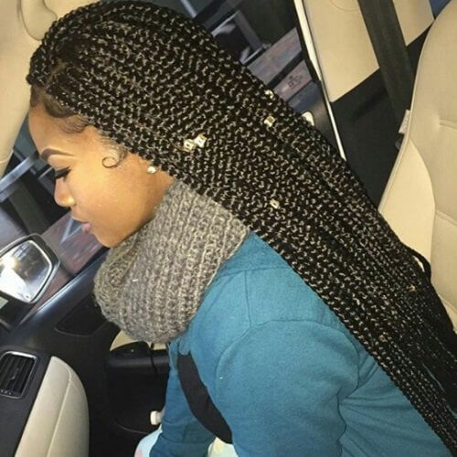 Super Long Box Braids Hair Styles Natural Hair Styles