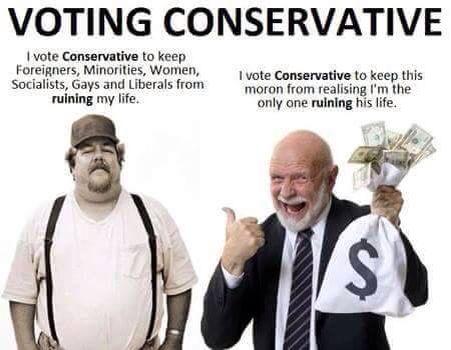 Voting Conservative
