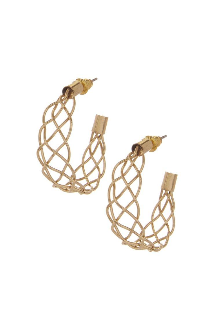 Elegante gouden oorringen