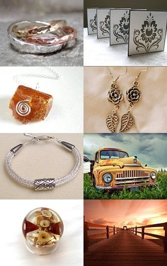 4. mixed metal magic  by Margo on Etsy--Pinned with TreasuryPin.com