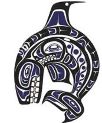 First nations killerwhale design pacific northwest for Native american tattoo artist seattle